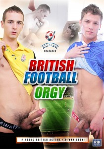 British Football Orgy DVD - Front