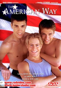 The American Way DVD - Front