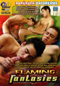Flaming Fantasies DVD - Front