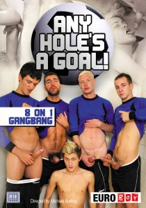Any Hole's A Goal DVD - Front