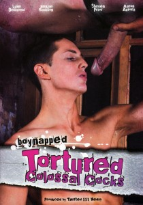 Boynapped 8: Tortured Colossal Cocks DVD - Front