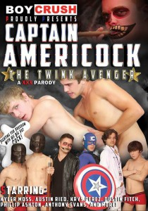 Captain Americock: The Twink Avenger DVDR (NC)