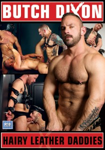 Hairy Leather Daddies DVD - Front