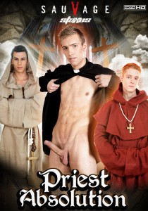Priest Absolution DVD - Front