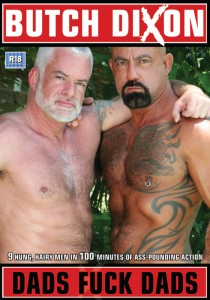Dads Fuck Dads DVD - Front