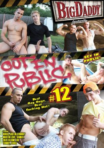 Out in Public 12 DVD - Front