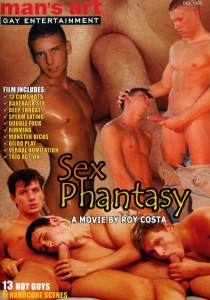 Sex Phantasy DVD - Front