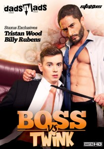 Boss Vs Twink DVD - Front