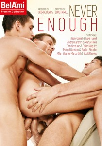 Never Enough (BelAmi) DVD - Front