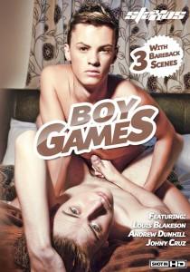 Boy Games DVD - Front