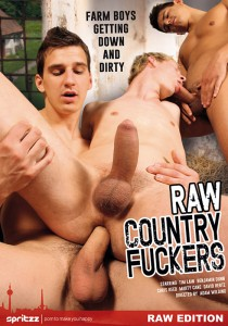 Raw Country Fuckers DVD - Front