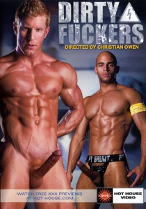 Dirty Fuckers (Hot House) DVD - Front