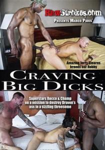 Craving Big Dicks DVD - Front