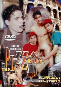 The Pizza Boy DVD - Front