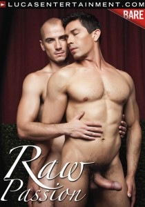 Raw Passion (Lucas Entertainment) DVD - Front
