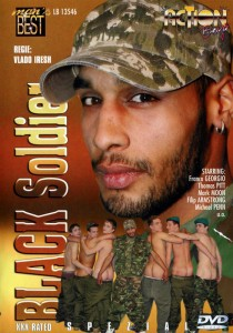 Black Soldier DVD - Front