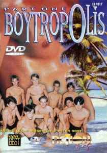 Boytropolis part 1 DVD - Front
