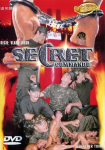 Secret Commando DVD - Front