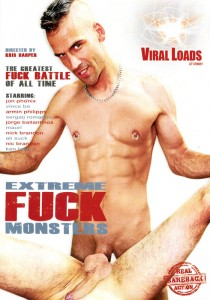 Extreme Fuck Monsters DVD - Front