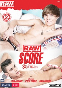 Raw Score DVD - Front