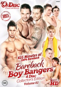 Bareback Boy Bangers Collector's Edition Volume 2 DVD