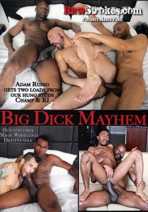 Big Dick Mayhem DVD - Front
