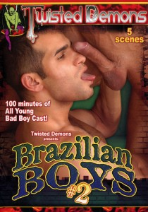Brazilian Boys vol. 2 DVD