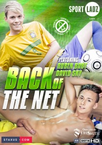 Back Of The Net DVD - Front