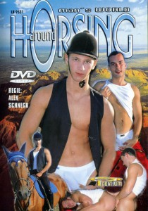 Horsing Around DVD - Front