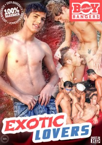 Exotic Lovers DVD - Front