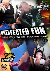 Unexpected Fun DVD (Sneaker Stories) - Front