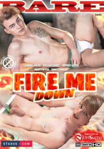Fire Me Down DVD - Front