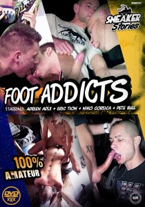 Foot Addicts DVD - Front
