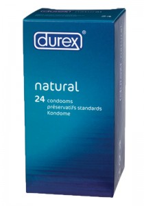Durex Classic Natural (3 packages of 24 pieces) Condom