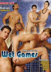 Wet Games DVD - Front