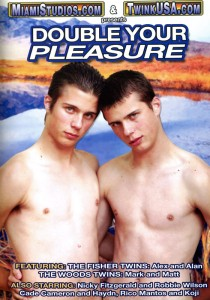 Double Your Pleasure DVD - Front