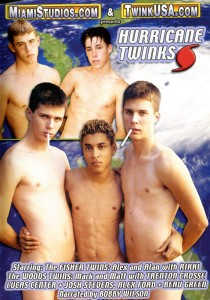Hurricane Twinks DVD (NC)