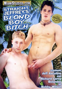 Straight Jeffrey's Blond Boy Bitch DVD - Front