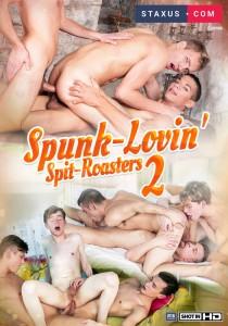 Spunk-Lovin' Spit-Roasters 2 DVD - Front