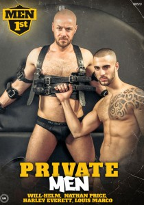 Private Men DVD - Front