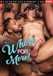 Whore For More! DVD - Front