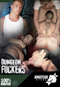 Dungeon Fuckers DVD - Front