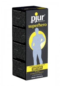 Pjur Superhero Concentrated Delay Serum Pump Bottle 20ml