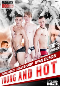 Young and Hot DVD - Front