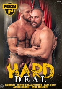Hard Deal DVD - Front