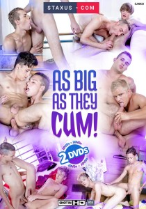 As Big As They Cum DVD (NC)