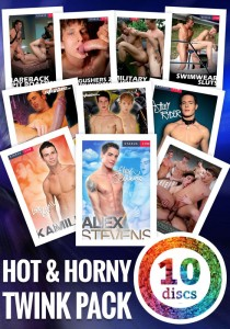 HOT & HORNY 10DVD PACK (NC)