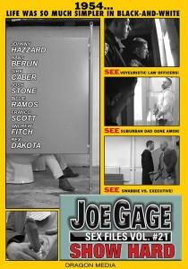 Joe Gage Sex Files vol. #21 Show Hard DVD (S)
