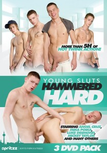Young Sluts Hammered Hard DVD
