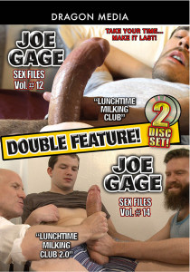 Joe Gage Double Feature: Sex Files 12 & 14 DVD